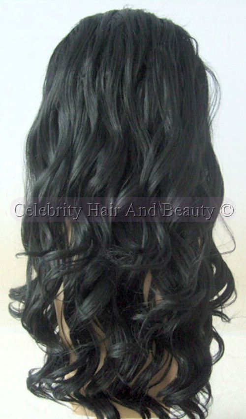 Curly Full Lace Wigs 32mm Curl Custom Full Lace Wig