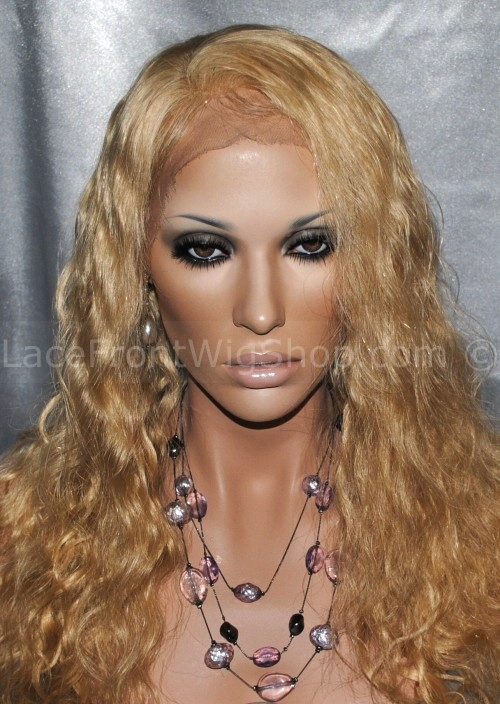 Brittany Blonde Lace Wig