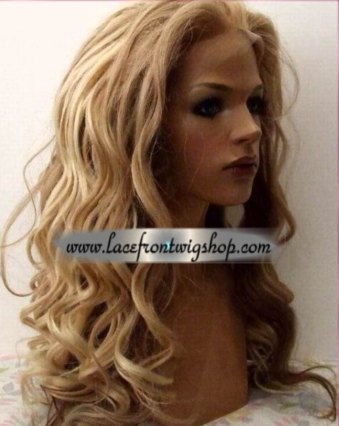 Pamela Blonde Lace Wig