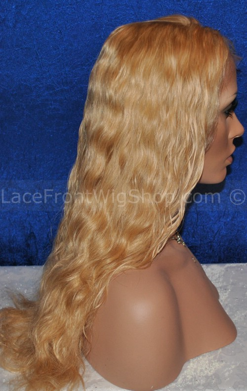 Gretchin Blonde Lace Wig