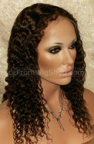 Remy Deep Wave Lace Wig